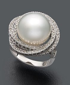 pearl ring - not quite a diamond, but i still wouldn't mind wearing it!