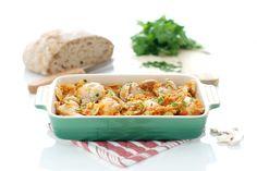 Receta de Pollo a la huertana con Thermomix ®, una de las recetas básicas de la marca que siempre sale bien.