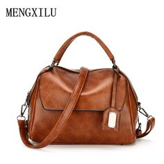 Women Shoulder Bag Luxury Soft PU Leather women handbag Vintage Female  Messenger Bag Fashion Ladies Crossbody Bags Women Bag Wholesale Price +  Coupon ... 54a07aab75d82