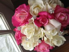 <3 pretty for a quinceanera bouquet