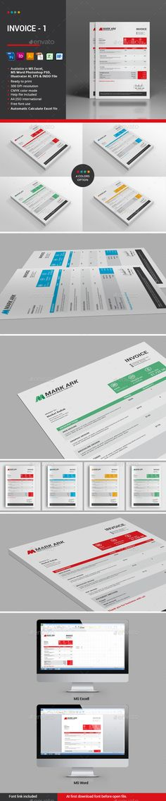 Invoice Excel Business, Texts and A professional - what is invoice