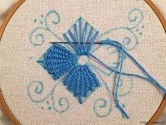 Image result for bordados da vovo pontos livres pinterest