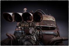 映画『マッドマックス 怒りのデス・ロード』に登場した改造車の美しく世紀末な写真集 85