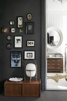Small wall gallery