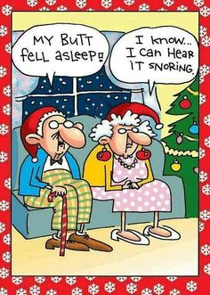 old farts smell in so many ways  ( oh, that's not nice !! = Where's my Christmas SPIRIT ?  = My SPRIT is left in the bottle ‼️