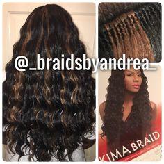 Crochet Braids Kima Ocean Wave : kima braid ocean wave crochet more wigs weaves braids ocean waves ...