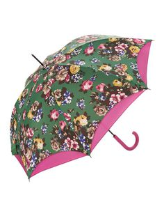 Joules null Walker Brolly, Green.                     If you're going to be strolling along when there's a chance of a shower, this is the brolly to pick up. The double canopy will provide extra protection if the clouds really burst.