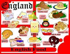 English food illustration: #FOOD##FOOD TOUR##TRAVEL#