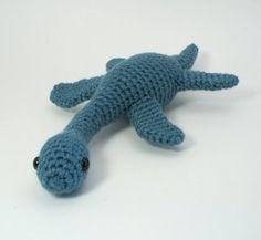 Plesiosaurus - amigurumi dinosaur crochet pattern