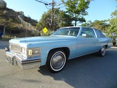 1977 Coupe deVille Cabriolet:  Jennifer blue w/