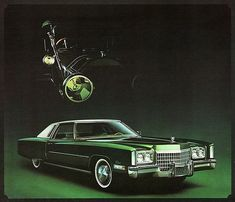 I used to own this model, it was a boat with wheels! 1972 Cadillac Fleetwood Eldorado Coupe