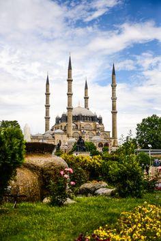 Selimiye Mosque, Edirne, Turkey (by Gürkan Gündoğdu)