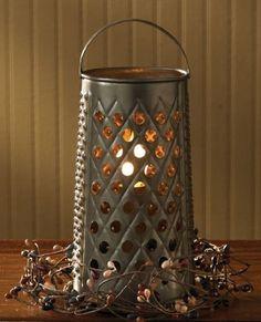 Cheese Grater Lamp Park Designs http://www.amazon.com/dp/B008O8JWRM/ref=cm_sw_r_pi_dp_Xdzkwb012NY9T