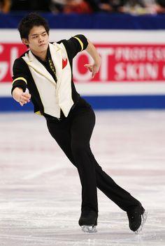 Takahiko Kozuka Photos: ISU World Figure Skating Championships: Day 1