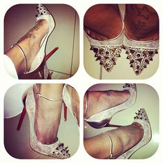 shoes… bonang matheba