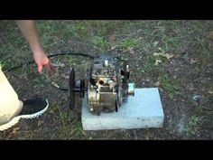 DIY Video : How to convert a Gasoline Engine into a Homemade Steam Engine for couple of dollars - Page 2 of 2 - Practical Survivalist Renewable Energy, Solar Energy, Custom Lighters, Gasoline Engine, Steamers, Steam Engine, Diy Tools, Diy Videos, Grid