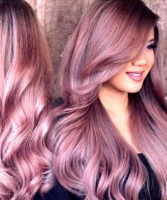 Rose Gold Hair Color 50