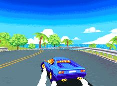 """Screen posted in NEOGAF demake thread, alleging to be from a game called """"Drift Stage"""", posted by sixteen-bit"""