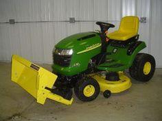 riding lawn mower attachments, tractor attachments, john deere garden  tractors, yard tractors,