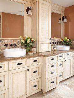Need to do this to add beauty and storage in my tired master bath