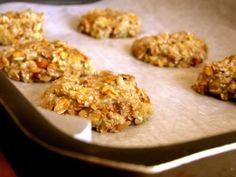 Cookies rápidos de banana e aveia http://www.pitadinha.com/2013/07/cookies-super-rapidos-de-banana-e-aveia.html