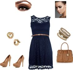 """Every day dress!"" by eunice-guijarro on Polyvore"