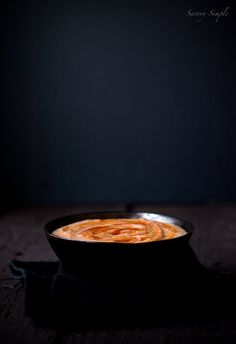 Sriracha Hummus ~ Savory Simple ~ www.savorysimple.net