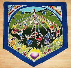pagan prayer flags  | ... May Day, Lammas and Samhain Flags-Pagan Celebration Flags and Banners