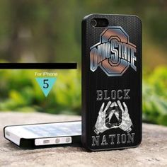 c001b355ddcc5b M IS0011 Ohio State Football Block Nation - For iPhone 5 Case