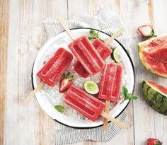 Lemoncillo Watermelon popsicles