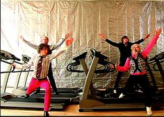 OK GO, that one band that made that incredible video on treadmills.