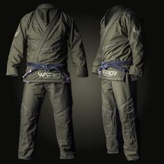 WARRIOR S.I. JIU-JITSU GI - Made in USA