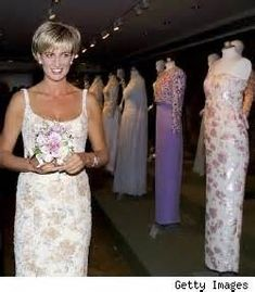 princess diana evening dresses - Bing Images