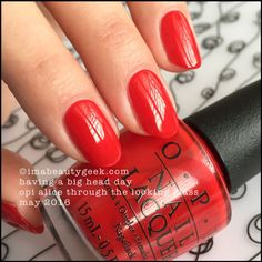 OPI Having a Big Head Day – OPI Alice Through the Looking Glass 2016