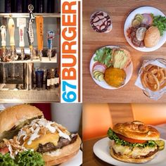 """See 138 photos and 36 tips from 1493 visitors to 67 Burger. """"Try: the 67 burger: creamy blue cheese and crispy bacon. Blue Cheese, Hamburger, Brooklyn, Bacon, Ethnic Recipes, Food, Essen, Hamburgers, Yemek"""