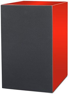 ProJect Box  Speaker Box 5  Red Surround Audiophile Bookshelf Home Speaker Set of 2 Silver * Check this awesome product by going to the link at the image.
