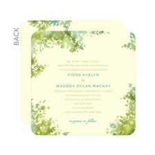Dappled Glade Wedding Cards