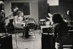 Todd's Utopia in the studio.