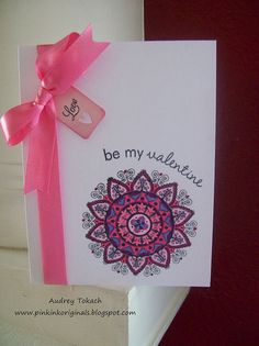 Audrey does it again with Mehndi Medallion. I love this Valentine!