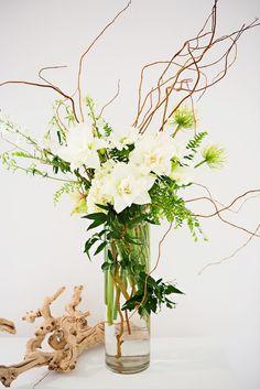 Honey of a Thousand Flowers - Tall twiggy arrangement.