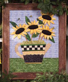 Sunshine Tea Wall Quilt pattern