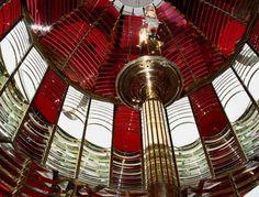 Oregon Lighthouses, Umpqua River Light, 1st Order Fresnel Lens, Winchester Bay OR