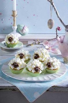 Das Rezept für Süße Schäfchen-Muffins und weitere kostenlose Rezepte auf LECKER.de