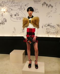 And this one! kate spade ny #AW15 was too much!