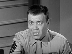 Frank Sutton as Sgt. Carter in Gomer Pyle, USMC