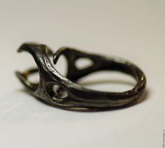 """Купить Кольцо """"Олень"""" - серебряный, олень, оленьи рога, готика, ветви, солце, Возрождение, плодородие"""