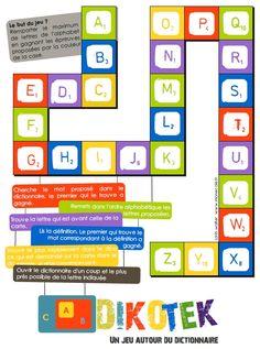 [Jeu pour la classe] DIKOTEK - jeu avec le dictionnaire cycle 3
