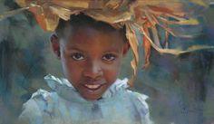 Pastel Portrait Painting, Artist Alain Picard | Artist's Network