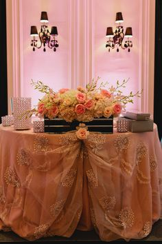 Sweetheart table indeed! Gorgeous decor and floral with the help of FOS! Table Scapes, Some Image, Toronto Wedding, Sweetheart Table, Place Settings, Floral Wedding, The Help, Wedding Planner, Floral Design