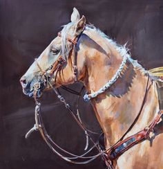 """Portrait of a Working Horse"" - Originals - All Artwork - Sophy Brown 